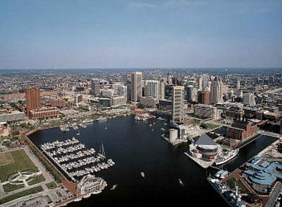 Baltimore Inner Harbor by Mike Smith