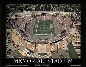 Baltimore Ravens Memorial Stadium First Game Sept 1, c.1996 Sports by Mike Smith