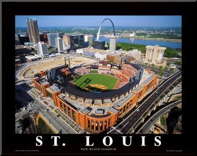 Busch Stadium by Mike Smith