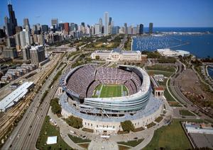 Chicago Bears New Soldier Field Sports by Mike Smith