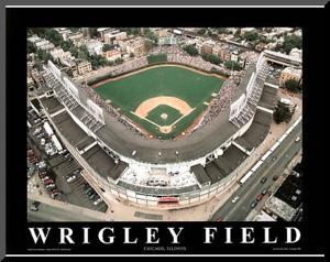Chicago Cubs Wrigley Field Sports by Mike Smith
