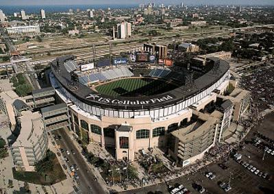 Chicago White Sox U.S. Cellular Field Sports by Mike Smith