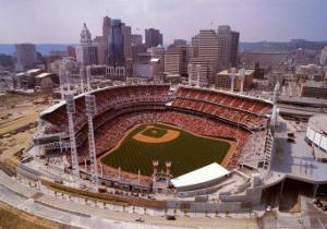 Cincinnati, Ohio - Baseball by Mike Smith
