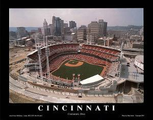 Cincinnati Reds Stadium Opening Game Sports by Mike Smith