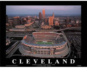 Cleveland Browns First Game August 21, c.1999 Sports by Mike Smith