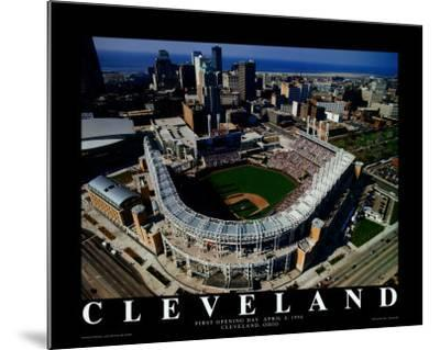 Cleveland - First Indians Game at Jacobs Field by Mike Smith
