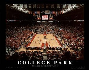 College Park Maryland Comcast Center NCAA Sports by Mike Smith