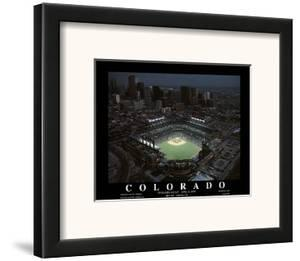 Colorado Rockies Coors Field First Opening Day April 26, c.1995 Sports by Mike Smith