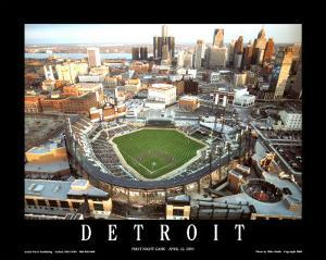Comerica Park - Detroit, Michigan by Mike Smith