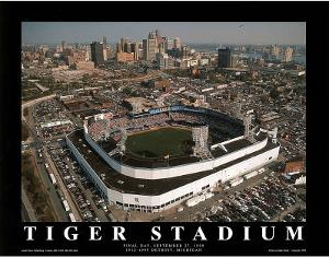 Detroit Tigers Tiger Stadium Final Day Sept. 27, c.1999 Sports by Mike Smith