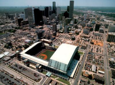 Enron Field - Houston, Texas by Mike Smith