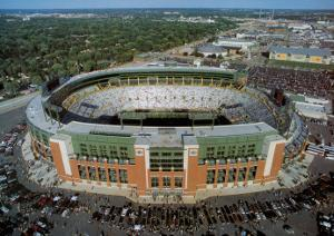 Green Bay Packers - New Lambeau Field by Mike Smith