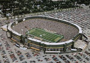 Green Bay Packers Old Lambeau Field, c.1957-2003 Sports by Mike Smith