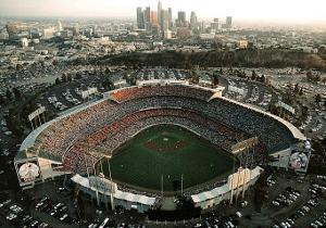 Los Angeles Dodgers Dodger Stadium Sports by Mike Smith