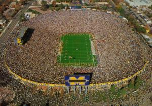 Michigan Stadium - University of Michigan Football by Mike Smith