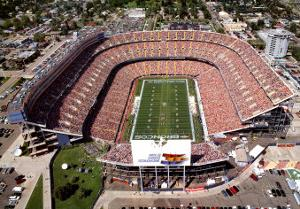 Mile High Stadium - Denver, Colorado by Mike Smith