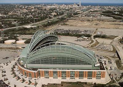 Milwaukee Brewers Miller Park Sports by Mike Smith