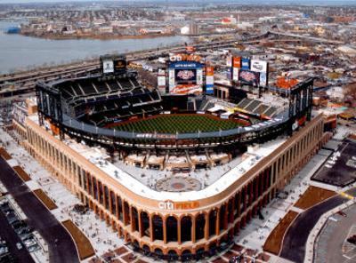 New Citi Field, First Opening Day, April 13, 2009 by Mike Smith