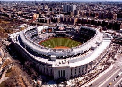 New Yankee Stadium, First Opening Day, April 16, 2009