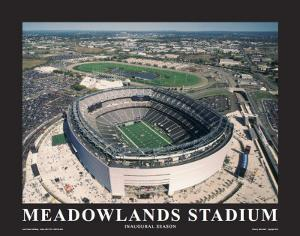 New York Giants at New Meadowlands Stadium by Mike Smith