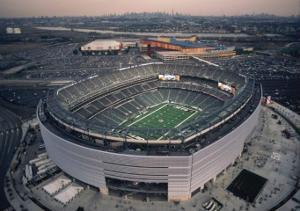 New York Jets at New Meadowlands Stadium by Mike Smith