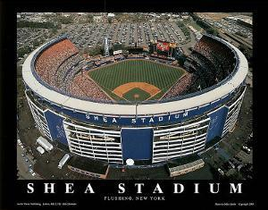 New York Mets Shea Stadium Sports by Mike Smith