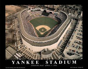 New York Yankees - Old Yankee Stadium, Opening Day, April 7, 1992 by Mike Smith