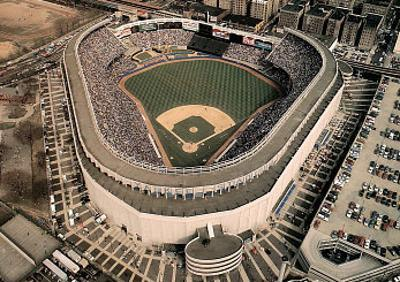 New York Yankees Old Yankee Stadium Opening Day April 7, c.1992 Sports