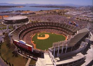 Oakland: Network Associates, Athletics Baseball by Mike Smith