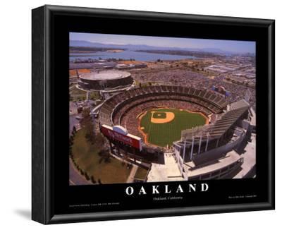 Oakland: Network Associates, Athletics Baseball by Mike Smith