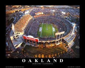 Oakland: Network Associates, Raiders Football by Mike Smith