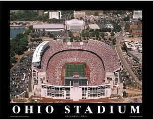 Ohio State Buckeyes Ohio Stadium NCAA Sports by Mike Smith