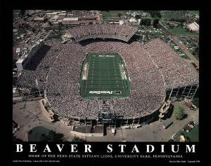 Penn State Nittany Lions Beaver Stadium NCAA Sports by Mike Smith