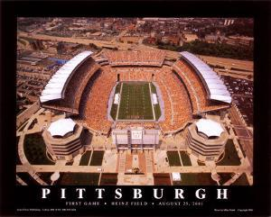 Pittsburgh  (First Game, Heinz Field,  August 25, 2001) by Mike Smith