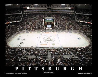 Pittsburgh Penguins Mellon Arena Sports by Mike Smith