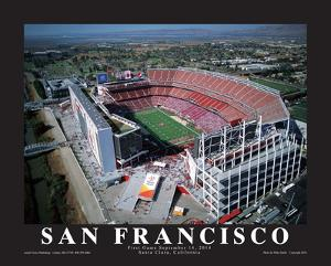 San Francisco 49er's First Game at Levi's Stadium, Santa Clara, California (9/14/14) by Mike Smith