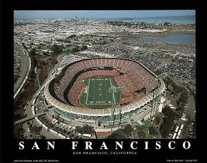 San Francisco 49ers Candlestick Park Sports by Mike Smith