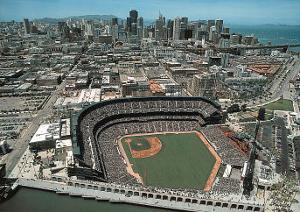 San Francisco Giants AT&T Park Sports by Mike Smith