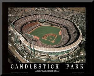 San Francisco Giants Candlestick Park Final Day Sept 30, c.1999 Sports by Mike Smith