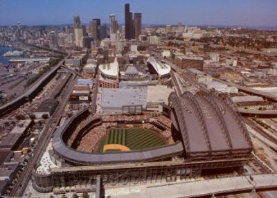 Seattle: Safeco Field, Mariners Day Game, 2003 by Mike Smith
