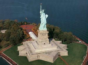 Statue of Liberty Ellis Island by Mike Smith