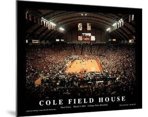 University of Maryland Cole Field House Final Game March 3 2002 NCAA by Mike Smith
