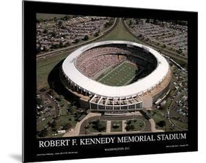 Washington Redskins RFK Memorial Stadium Sports by Mike Smith