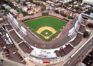 Wrigley Field - Chicago, Illinois by Mike Smith
