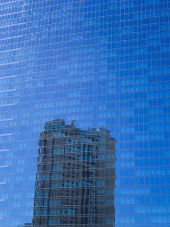 A Casino's Reflection in the Glass Windows of Another Casino by Mike Theiss