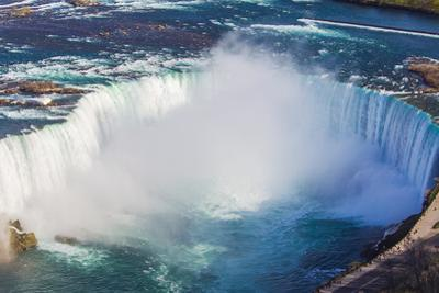 A Scenic Aerial View of Horseshoe Falls by Mike Theiss