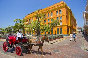 Old-Fashioned Horse and Buggy Rides in the Walled City by Mike Theiss
