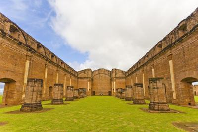 Ruins of Jesus De Tavarangue in Paraguay by Mike Theiss