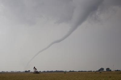 Thin Rope Tornado, One of the First in a Long Series in a Major Outbreak by Mike Theiss