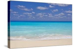 Turquoise Water and Soft Beaches Create a Paradise at Cancun, Mexico by Mike Theiss